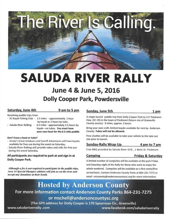 Saluda River Rally