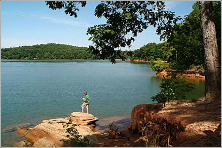 Lake Hartwell Fishing